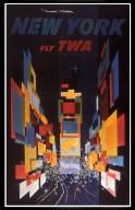 TWA Fly New York Poster