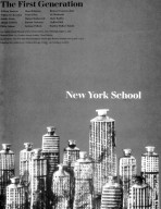 New York School Exhibition Poster at the Los Angeles County Museum of Art