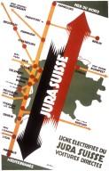 Jura Suisse, Ligne Electrifiee Poster