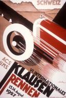 VI. Internationales Klausenrennen Poster