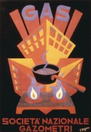 Societ¿ Nazionale Gazometri Poster