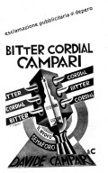 Bitter Cordial Campari Advertisement