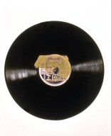 Record with Iron Piece