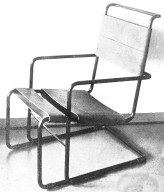 Cantilevered Lounge Chair