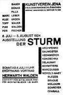 Kunstverein Jena Exhibition Invitation