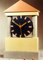 Wooden Block Quartz Clock