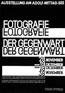 Poster for Fotographie der Gegenwart