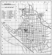 Plan of the City of Oaxaca