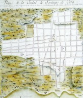 Plan of the City of Santiago de Cuba