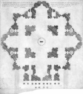 Plan of Saint Peter's Basilica