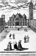Ottomans Strolling in Piazza San Marco