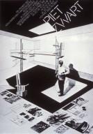 Kunstgewerbe Museum Piet Zwart Exhibition Poster