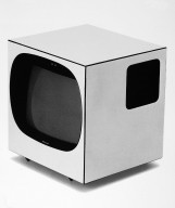 Prototype Transistor Television with Wheels