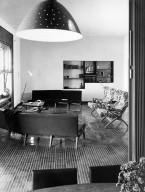 Living Room of the Villa Berio