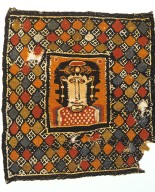 Tapestry with Face and Patterns