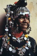 Berber Woman Wearing a Fibula