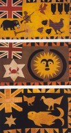 Three Asafo Flags