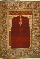 Red and Gold Ottoman Carpet