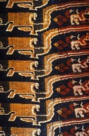 Brocade Cloth with Check and Animal Patterns