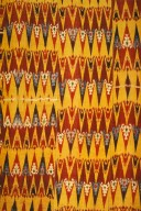 Ikat with Scorpion Motifs from the Feghana Region