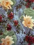 Flower Design for Textile