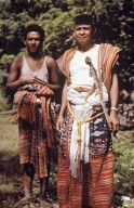 Central Timor Men Wearing Their Finest Outfits