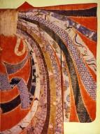 Yuzen Dyed Furisode Kimono