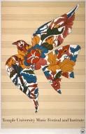 Temple University Music Festival Poster