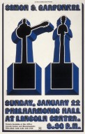 Simon and Garfunkel Concert Poster