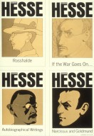 Series of Hermann Hesse Book Covers