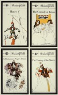 Book Covers for Signet Press - Shakespeare Series