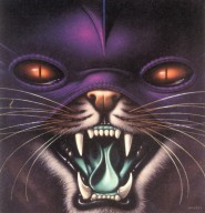 Record Album Cover for CBS with Masked Cat