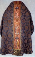 Chasuble with Feathers and Palmettes