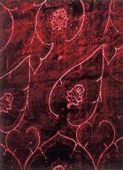 Velvet Cloth with Ferronnerie Pattern