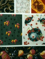 Fruit Prints with Cherries, Pumpkins, and Pineapples