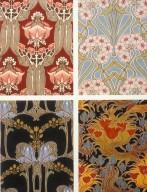 Floral Art Nouveau Prints