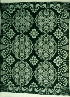 Double Weave Coverlet for Emily Downing