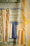 Pastel Industrial Printed Fabrics