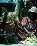Women at Market in Chichicastenango