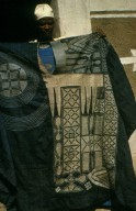 Hausa Gown with Embroidered Pattern