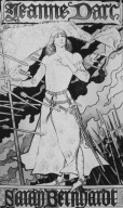Jeanne d'Arc Poster for Sarah Bernhardt