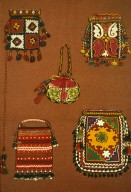 Tadzhik Bags for Tea and a Purse