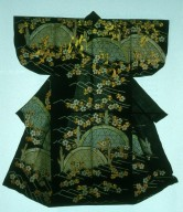 Kimono with Cherry Blossoms