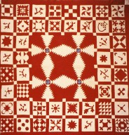 Center Medallion and Sampler Quilt