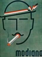 Modiano Cigarette Advertisement