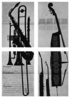 Trumpet, Trombone, Clarinet