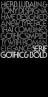 Typefaces by Lubalin