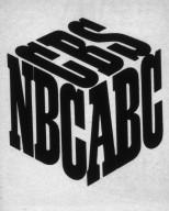 NBC, CBS, ABC Cube Logo