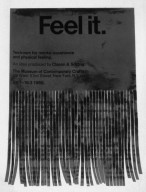 Feel It Exhibition Poster
