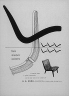Series of Knoll Advertisements for Risom Chairs